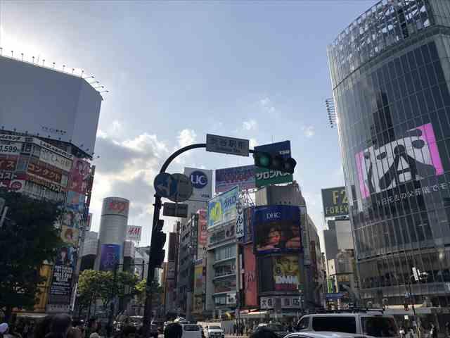 JR渋谷駅QフロントやSHIBUYA109