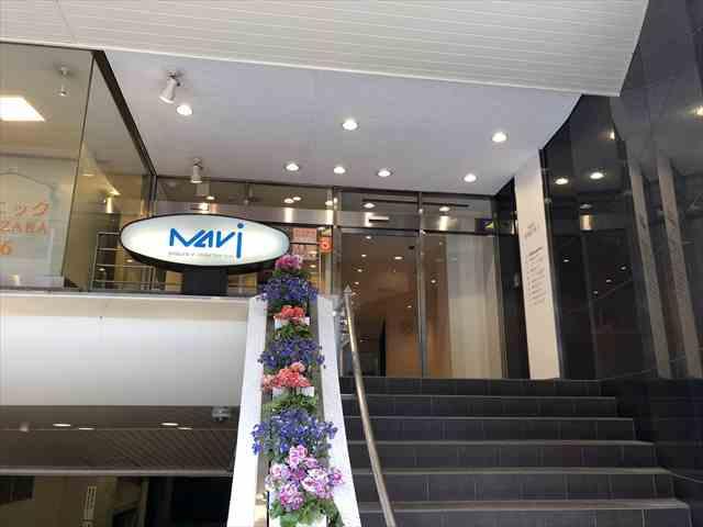 TECH BOOST(テックブースト)のあるNavi渋谷Vの入り口の写真