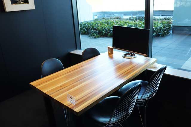 レバテック株式会社の面談に使う小会議室の写真