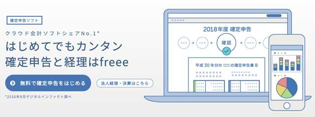 クラウド会計ソフトfreee(フリー)の紹介画像