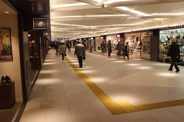 名古屋栄地下街の写真
