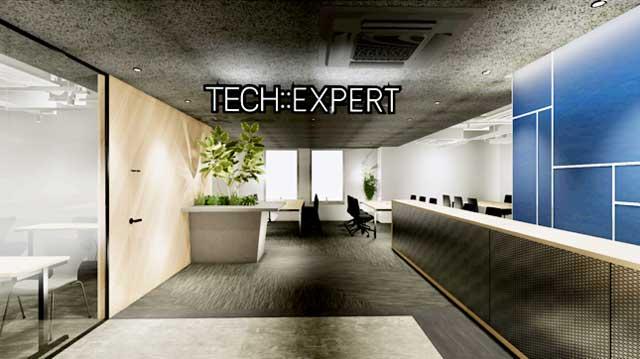 TECH::EXPERT(テック エキスパート)渋谷アジアビル9F校のエントランス写真