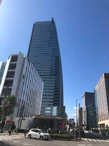 名古屋ルーセントタワーのビル外観写真