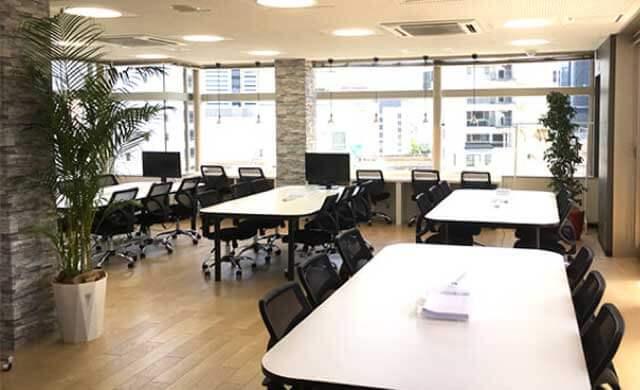 テックエキスパート名古屋校の教室の様子の写真
