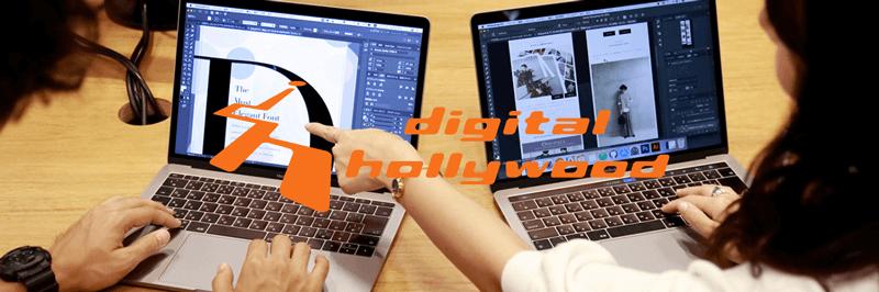 デジタルハリウッドWebデザイナー専攻の紹介画像