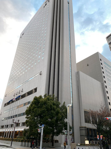 ヒルトン名古屋の外観写真