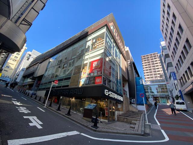 TECH::CAMP(テックキャンプ)エンジニア転職の渋谷フレーム神南坂校のあるフレーム神南坂の外観写真