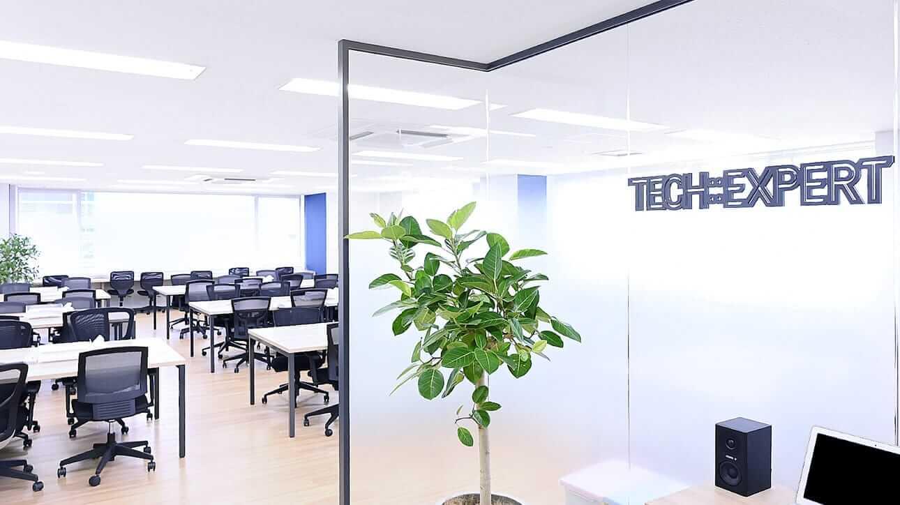 TECH::EXPERT(テックエキスパート)名古屋栄センタービル3F校の教室写真
