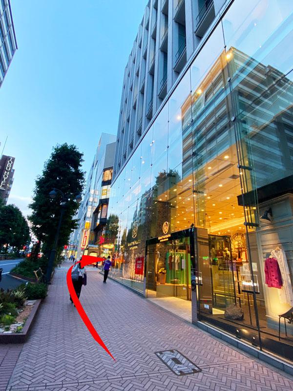 DMM WEBCAMP渋谷校の入るパークウェースクエア2の外観写真
