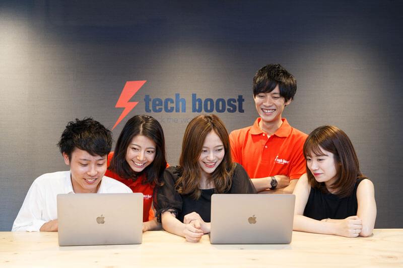 プログラミングスクールTECH BOOST(テックブースト)の紹介イメージ