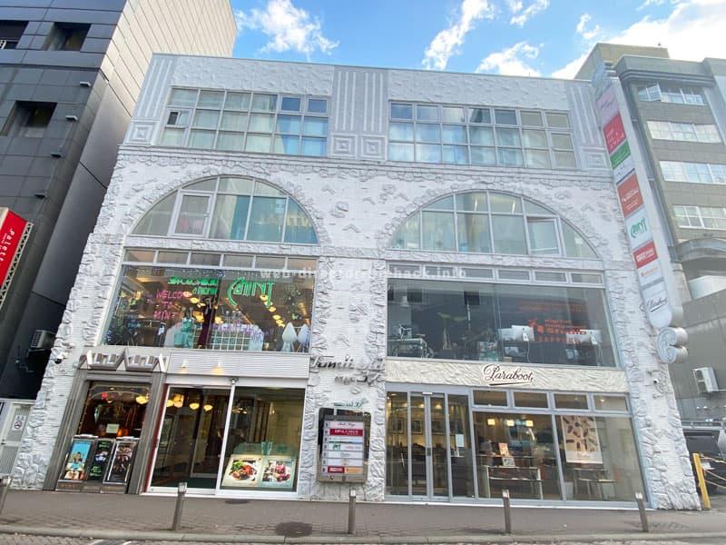デジタルハリウッドSTUDIO札幌の入るNo.37トミイビルの外観写真
