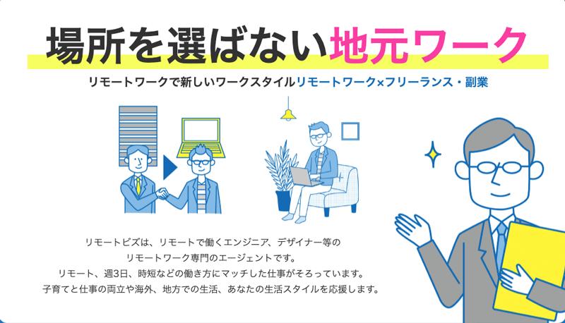 リモートビズの紹介画像